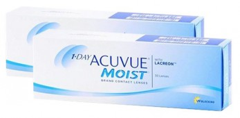 1 Day Acuvue Moist 30 + 30